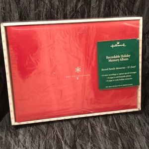 Brand New Recordable Holiday Photo Album